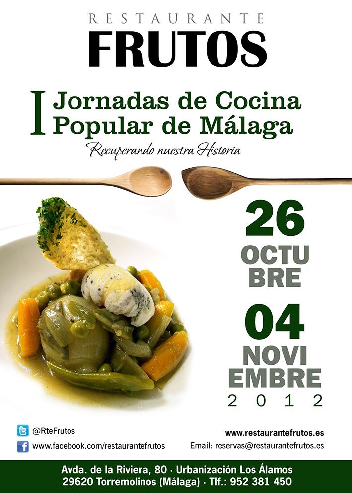 La cocina malague a alsurdelsur i jornadas de cocina for La cocina popular