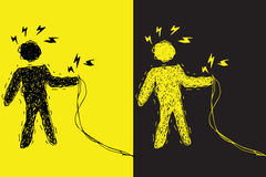 décharge électrique