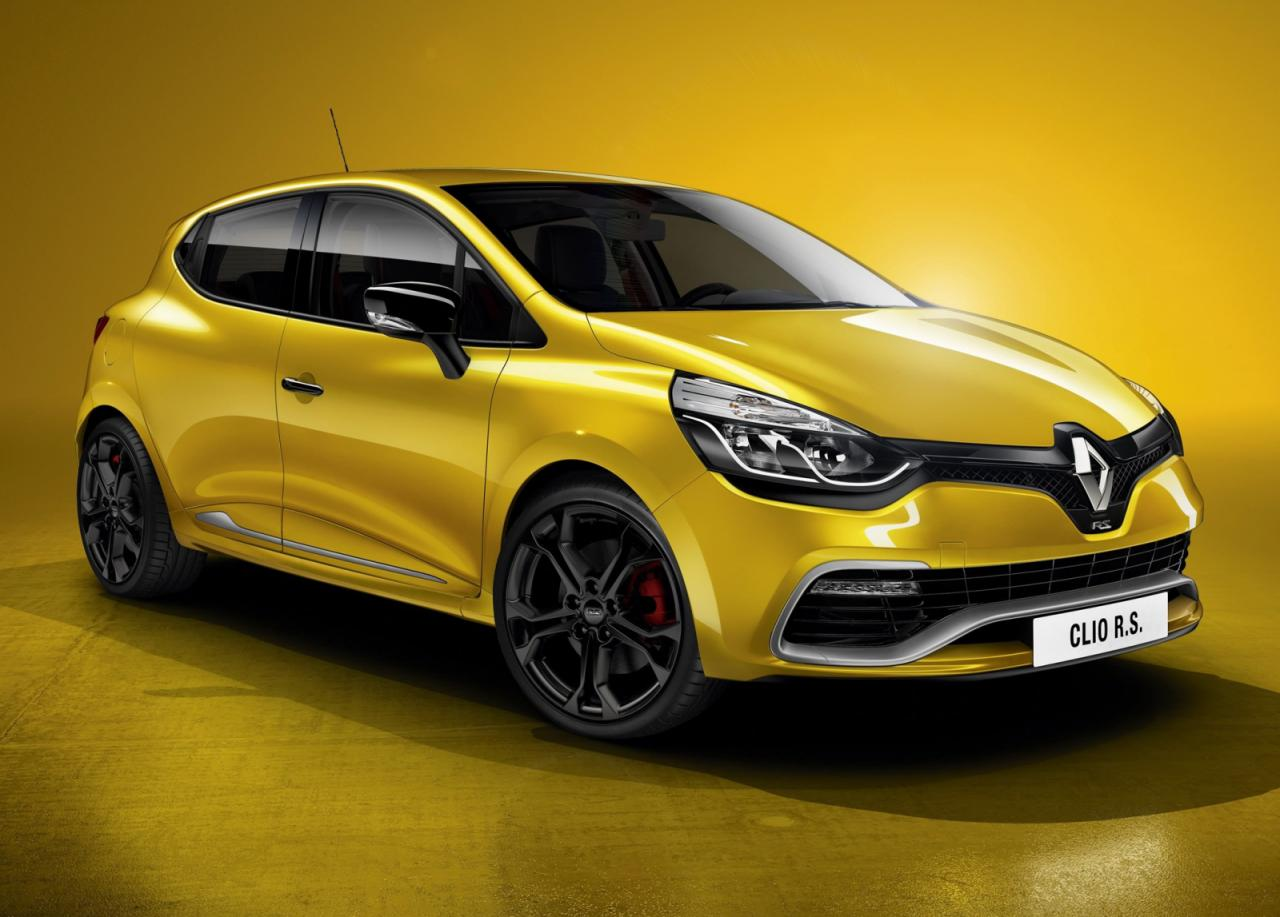 bhp news renault clio rs 200 debuts. Black Bedroom Furniture Sets. Home Design Ideas