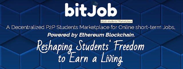 bitJob.io Reshaping Students' Freedom to Earn a Living