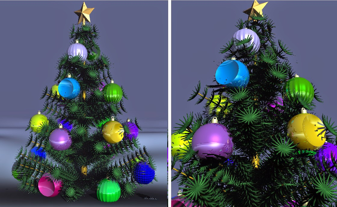 gd reflections: Raymarching a Christmas Tree