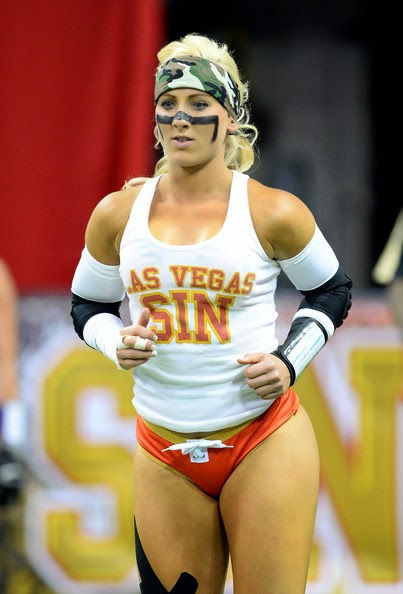 Sexy Football Player Girl