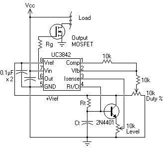 light sensor switch circuit diagram wiring plc nte electronics circuit: power supply switching ic uc3842