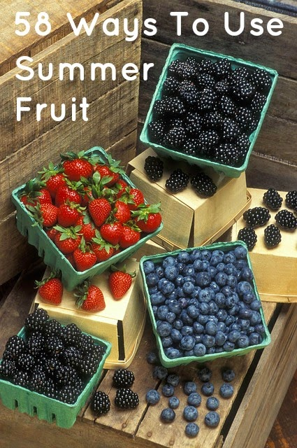 58 Ways To Use Summer Fruit | Becky Cooks Lightly