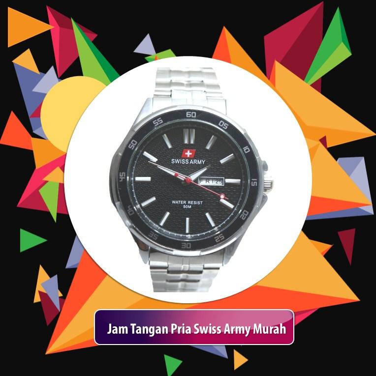 jam tangan pria swiss army murah