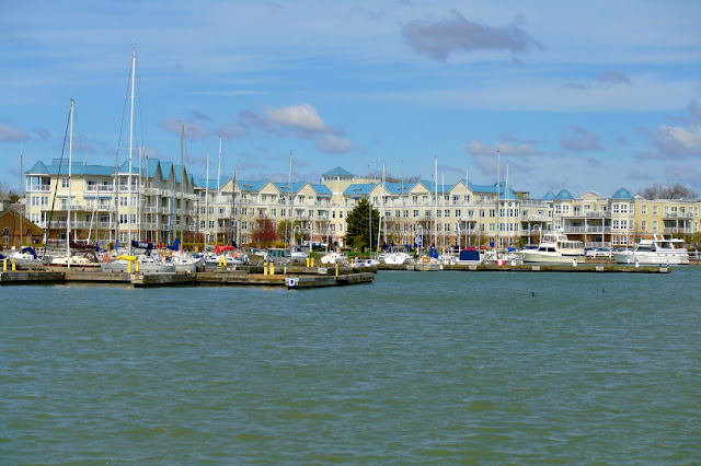 Cobourg's main waterfront marina...