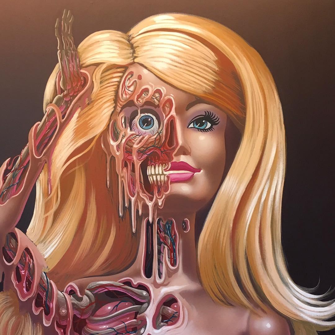 La anatomía sorprendente y aterradora en las obras del artista ...