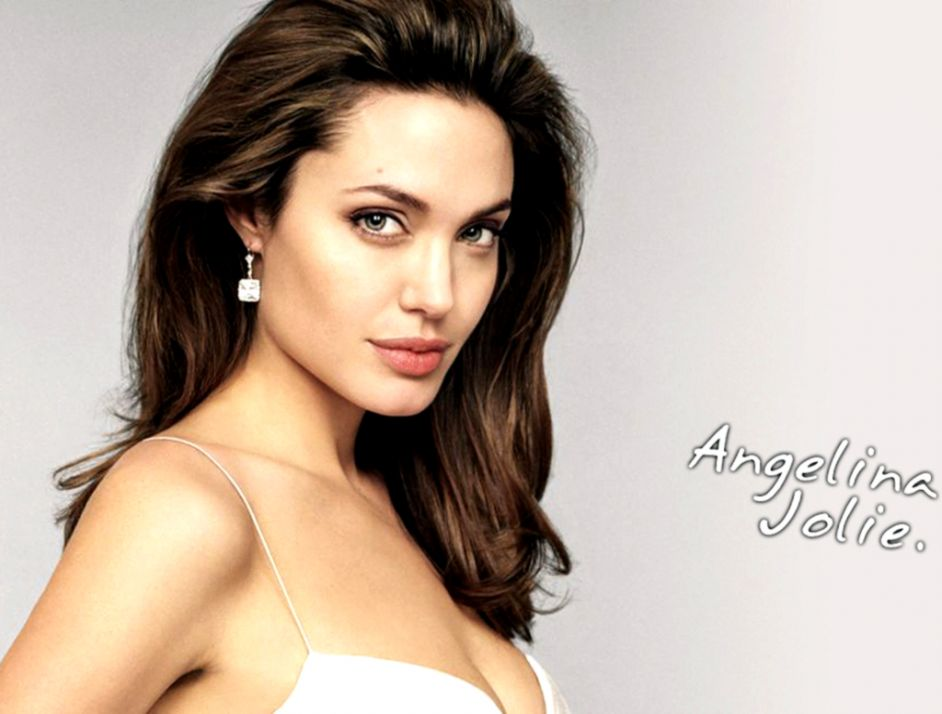 Angelina Jolie Beauty Actress Wallpaper