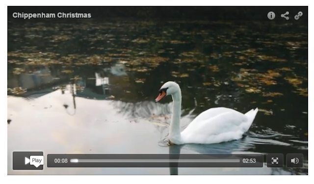 Screen grab from Chippenham's 2015 John Lewis-style Christmas advert
