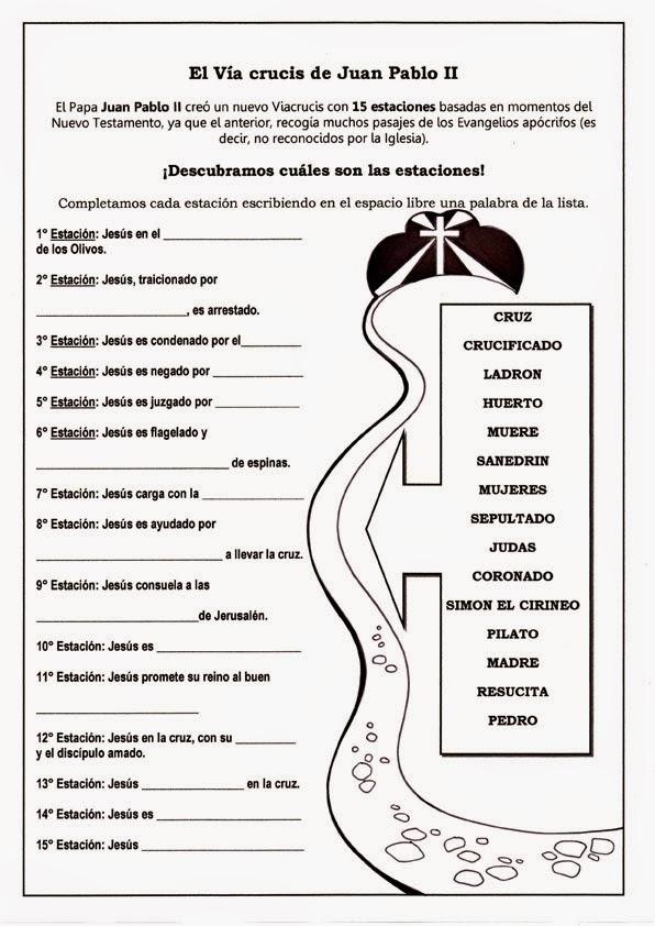 Educar Con Jesús El Via Crucis De Juan Pablo Ii