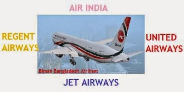 Airlines of Dhaka-Kolkata Route