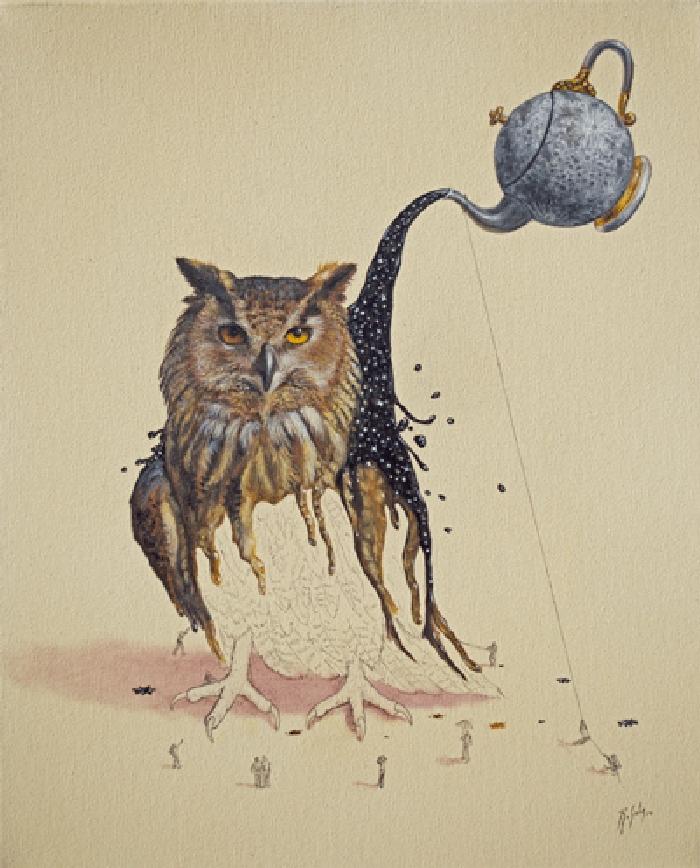05-Night-Creature-Ricardo-Solis-Surreal-Illustrations-of-Animals-in-Mid-Construction-www-designstack-co