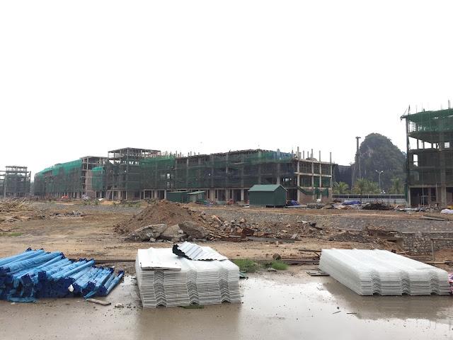 Tiến độ thực tiế công trường Mon Bay Hạ Long