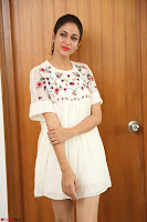 Lavanya Tripathi in Summer Style Spicy Short White Dress at her Interview  Exclusive 283.JPG