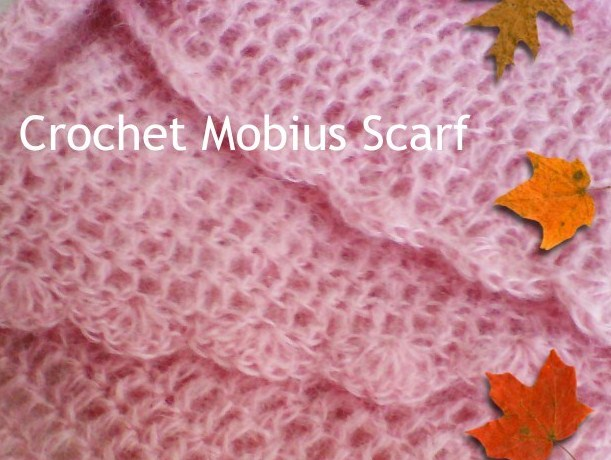 free crochet patterns, how to crochet, mobius, infinity scarf, twisted cowl,