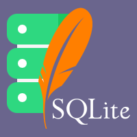 sqlite3 flat icon