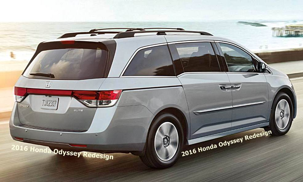 2016 honda odyssey redesign auto honda rumors. Black Bedroom Furniture Sets. Home Design Ideas