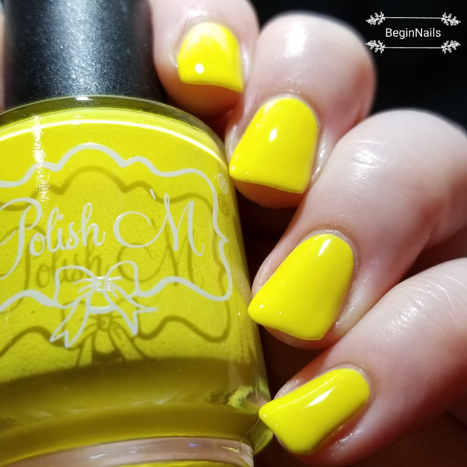 Let\'s Begin Nails: Polish \'M Not Really Neon\'s Collection Swatch and ...
