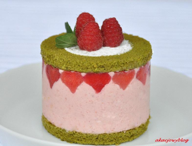 Deser dla Piotra - mini torcik ToPi.