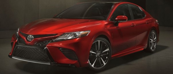 2019 Toyota Camry Interior and Exterior Color Options