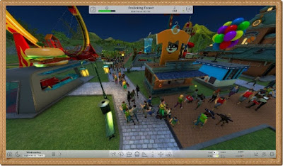 Roller Coaster Tycoon World PC Games Gameplay