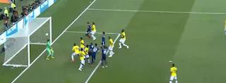اليابان تفوز على كولومبيا 2-1 فى افتتاح مباريات المجموعة الثامنة