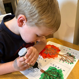 The Four Seasons art project for kids
