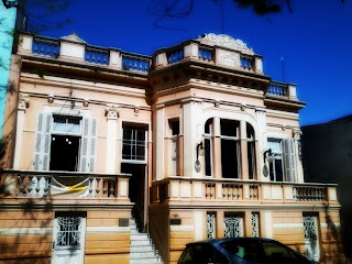 Casa de Cultura Paulo Salzano Vieira da Cunha, em Cachoeira do Sul, RS
