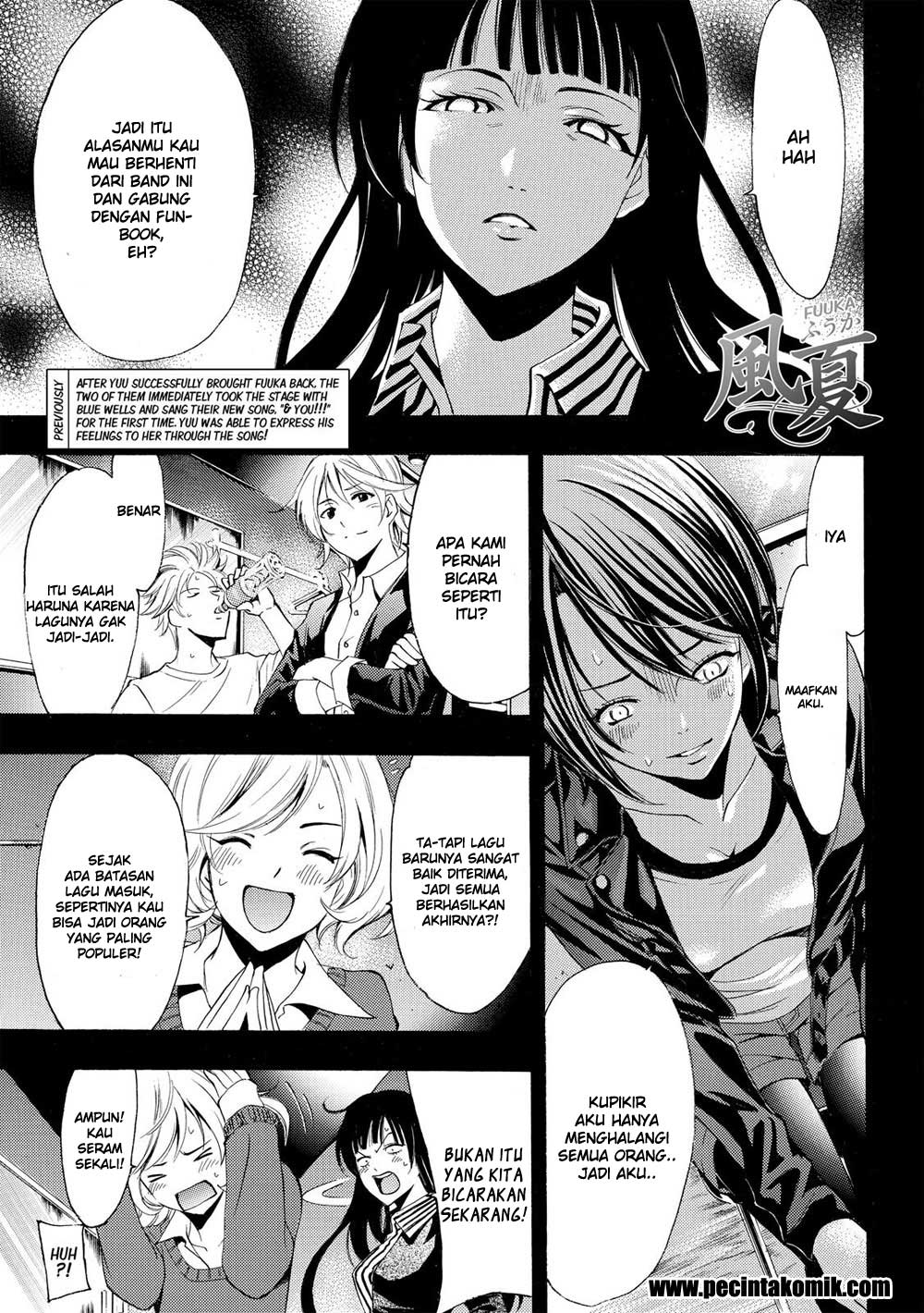 Fuuka Chapter 145-2