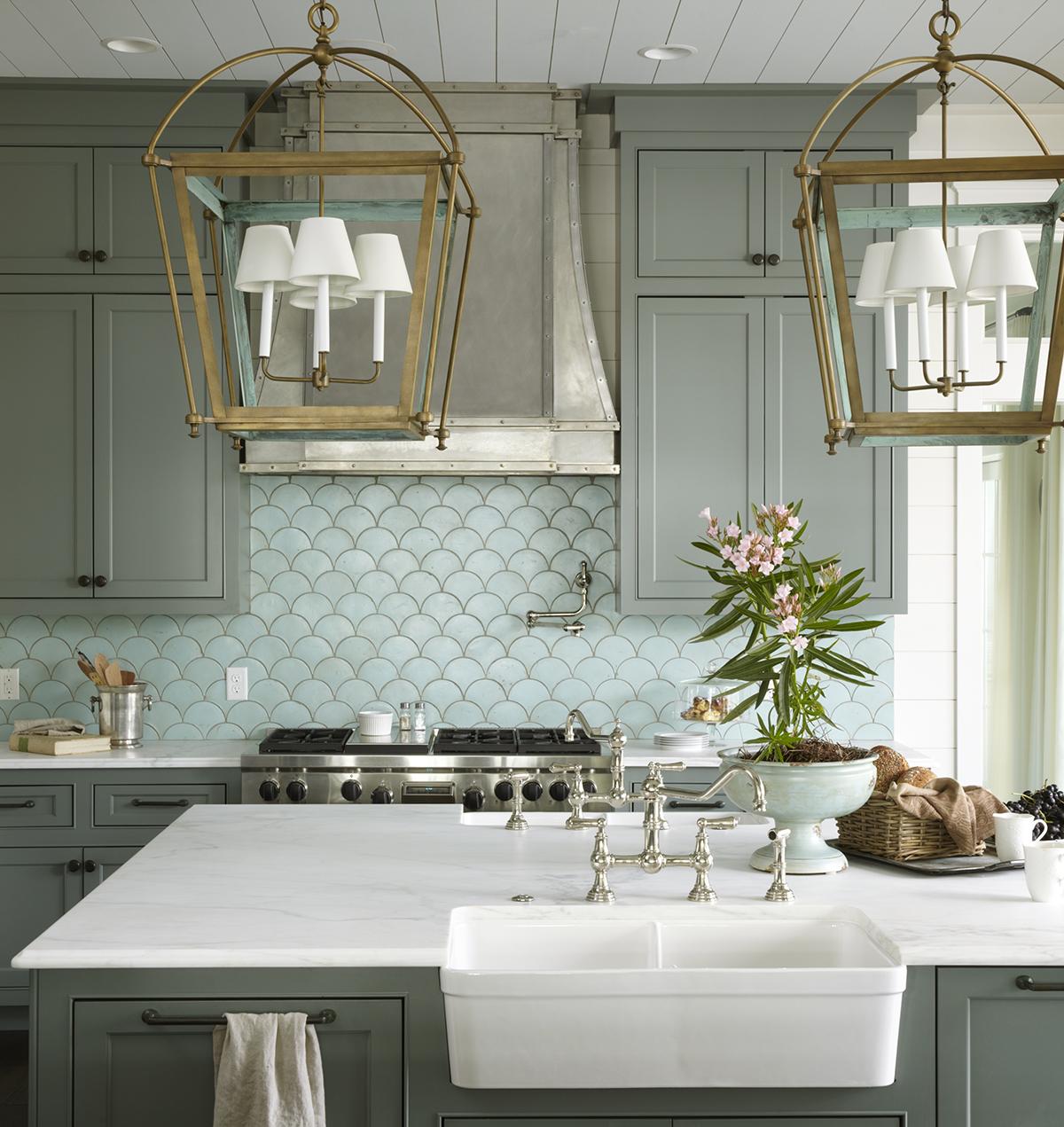 Azulejos Modernos na Cozinha Design Innova #5E4E2D 1200 1271
