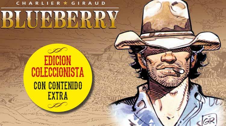 """edición para coleccionistas del 'Teniente Blueberry"""""""