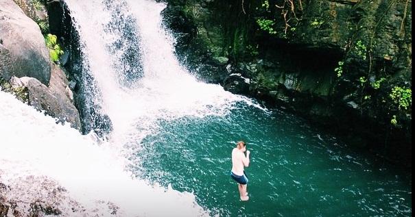 Air terjun aling – aling Bali