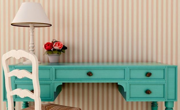 paint your recycled furniture in vintage paint colors