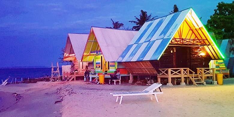 penginapan wisata di pantai sembilan gili genting madura