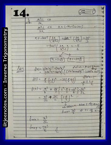 inverse trigonometry notes2