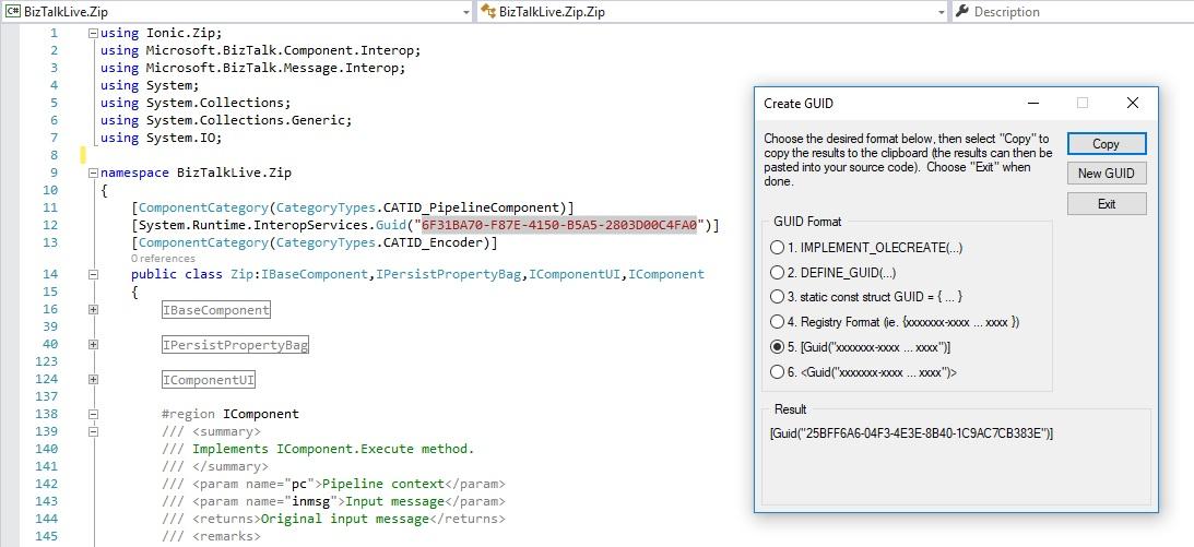 Zip File in a Custom Send Pipeline Component