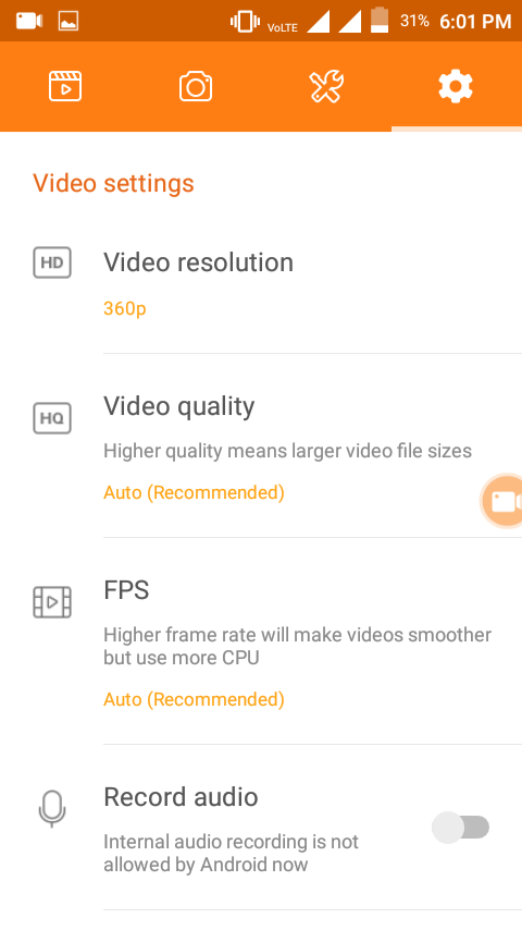 DU Screen Recorder apk