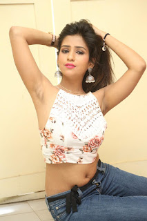 Deekshita Parvathi in a short crop top and Denim Jeans Spicy Pics Beautiful Actress Deekshita Parvathi January 2017 CelebxNext (199).JPG