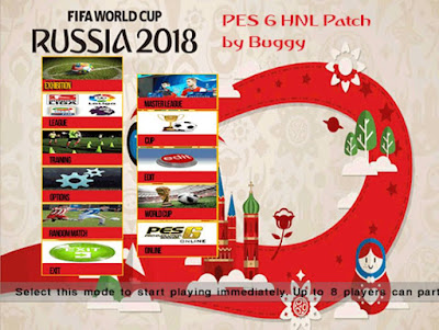 PES 6 HNL Patch World Cup 2018 Edition