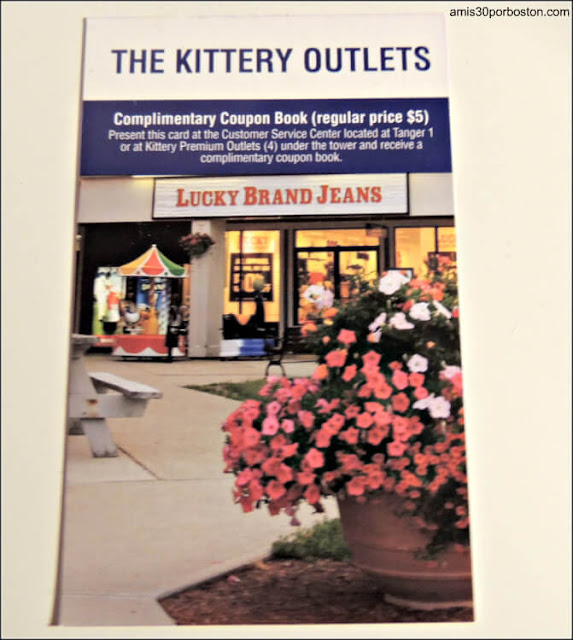 Cupones para The Kittery Outlets en Maine