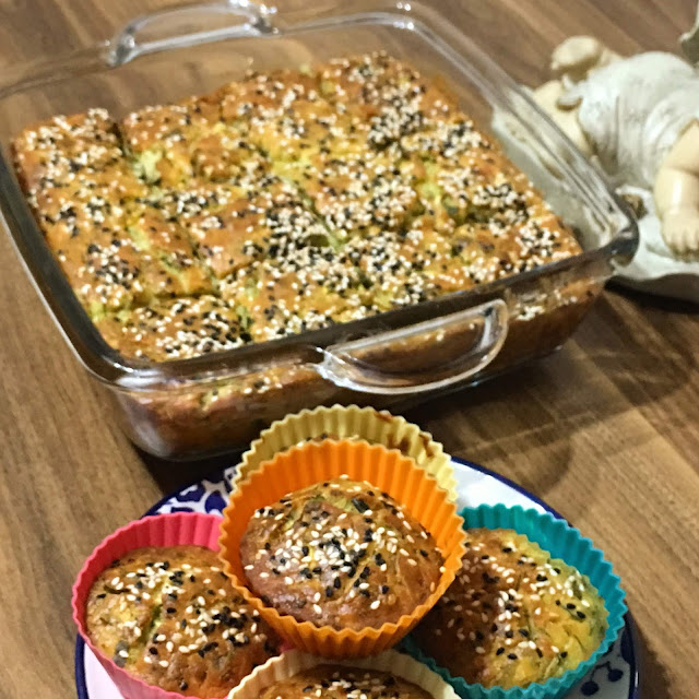 Kişniş otu, Kabaklı kek tarifi, kek tarifi, kolay kek tarifi, glütensiz, Glutensiz tarifler