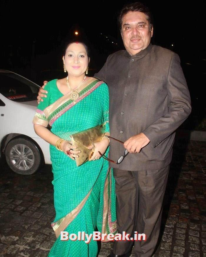 Raza Murad, Nikitin Dheer, Kratika Sengar Wedding Pics