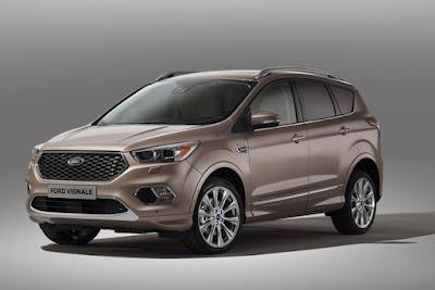 Versione raffinata Ford Kuga Vignale: debutto europeo