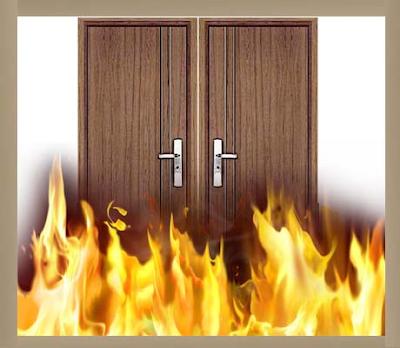 Cửa chống cháy vừa có tính an toàn và có tính thẩm mỹ cao