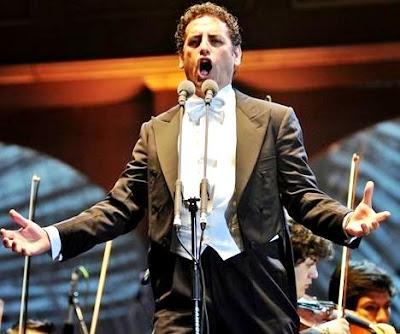 Foto de Juan Diego Florez en concierto