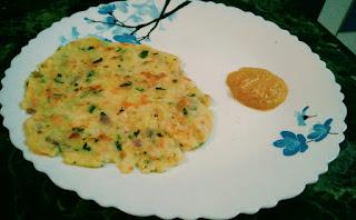 Rice flour Roti - Instant / akki masala rotti