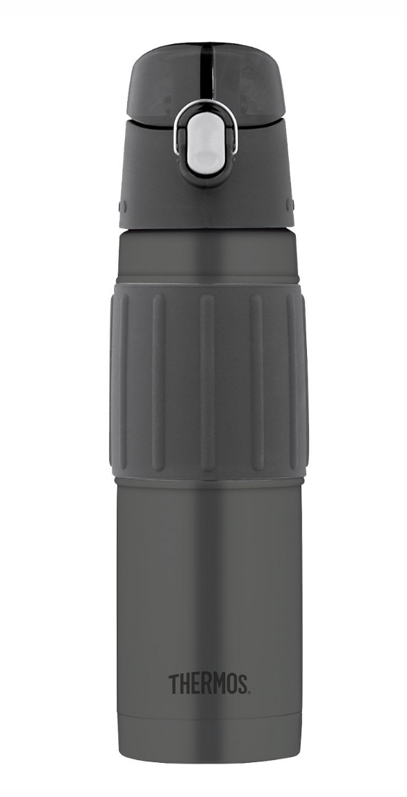 stainless steel Thermos with flip top