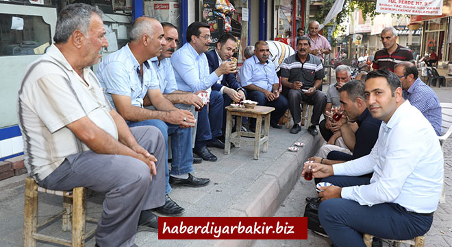 Cumali Atilla'dan Dicle ve Ergani'ye ziyaret
