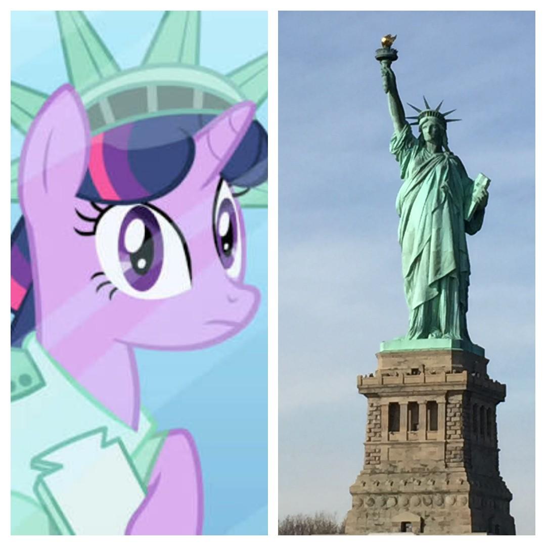 Referências Em My Little Pony: A Amizade é Magica #1