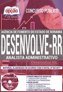 Apostila Desenvolve RR Analista Administrativo